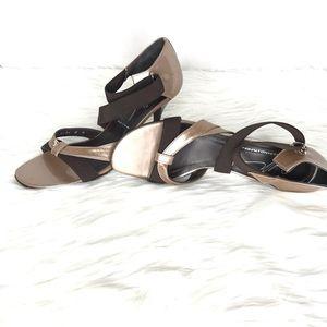 Donald Pliner Jeruse Strappy Open Toe Heels Size 8